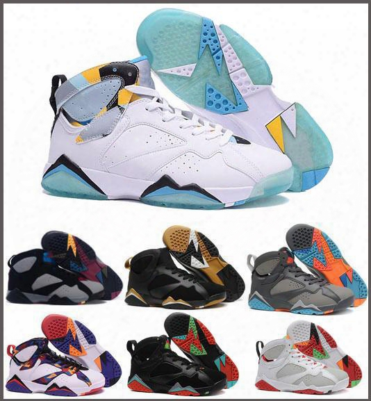 Retro 7 Basketball Shoes For Men And Women Authentic Trainer Sneakers Real Replica Zapatos Mujer Homme Dan Retros Shoe 7s Vii