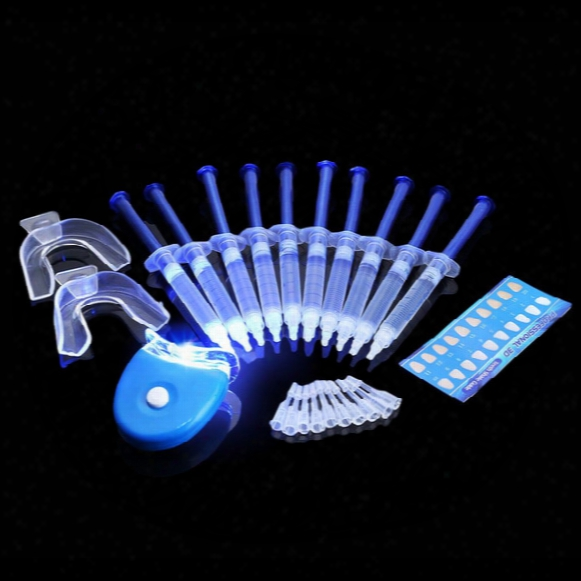 Teeth Whitening Dental Equipment Teeth Whitening Lamp Bleaching System Low Sensitivity Gel Kit Tooth Whitener B