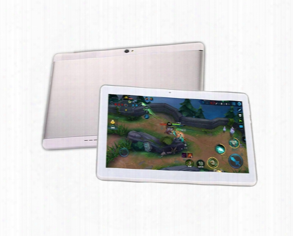 The New 10.1 Inch Metal Case Tablet Pc Octa Core Ram 4gb Rom 64gb 2560x1600 Ips Dual Sim Card Phone Call Tablet Pc Android 6.0 Gps 3g