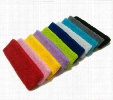 20 Pieces Start Sale Cotton-made Unisex Sweatbands Headband Sweat Absorbing Sporting Basketball Accessories