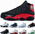 2017 Cheap Retro 13 XIII Basketball Shoes For Men High Quality Mens Retros 13s Athletic Sports Sneakers Trainers Shoe Black Red Size 7-12