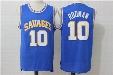 Dennis Rodman #10 Oklahoma Savages College Basketball Jersey Stitched Mens Throwback Shirts