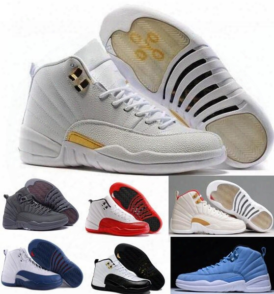 Top Retro 12 Xii Basketball Shoes Sneakers Men Women Taxi Playoffs Replicas Gamma White Gray Retros Shoes Sports Shoes
