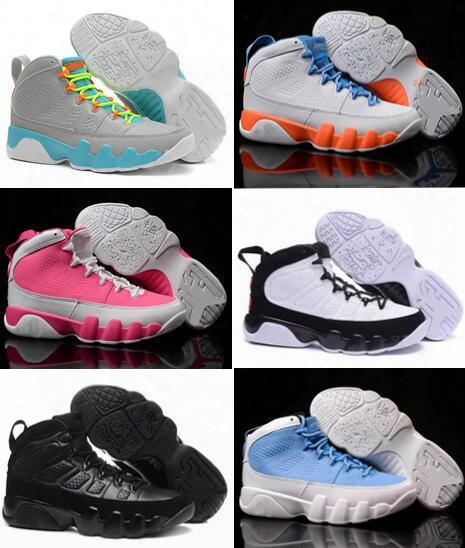 Top Retro 9 Basketball Shoes Retros Women 9s Zapatillas Deportivas Replicas Authentic Sneakers Size 36-40