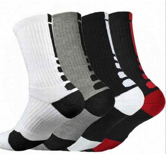 Usa Professional Elite Basketball Socks Long Knee Athletic Sport Socks Men Fashion Compression Thermal Winter Socks A057
