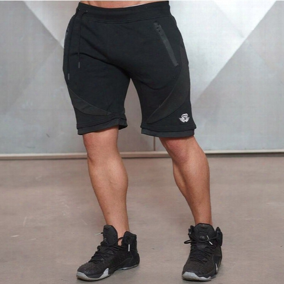 Wholesale-2016 Summer New Brand High Quality Gym Shorts Men Bodybuilding Gymshark Basketball Running Shorts Golds Gym Jogger Shorts