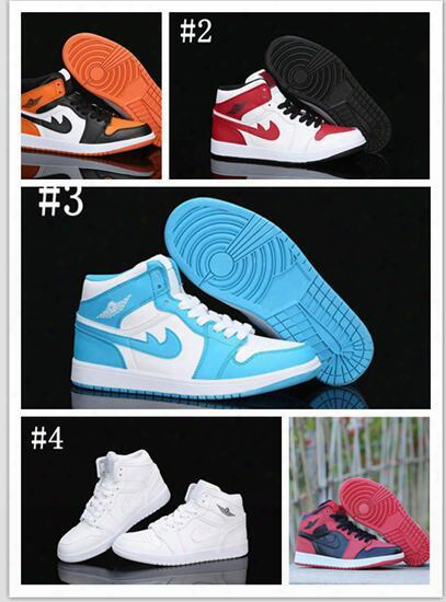 Wholesale Hot Sale 2017 Air Retro 1 One Basketball Shoes For Men Top3 Retros Cheaper 1s Og Sneakers Quality Trainers Mens Sprot Shoes