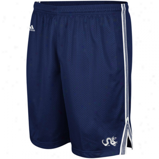 Adidas Drexel Dragons Navy Blue Lacrosse Mesh Shorts