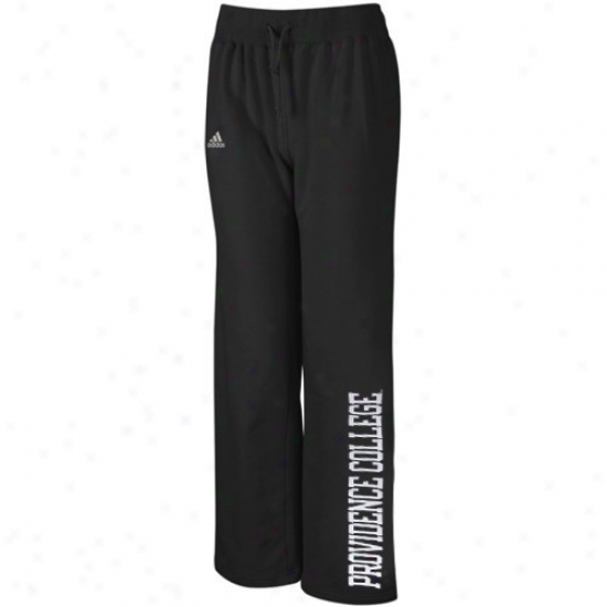Adidas Providence Friars Ladies Negro Word Plus Fleece Pants