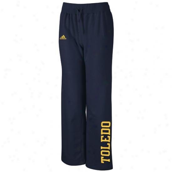 Adidas Toledo Rockets Ladies Navy Blue Word Plus Fleece Pants