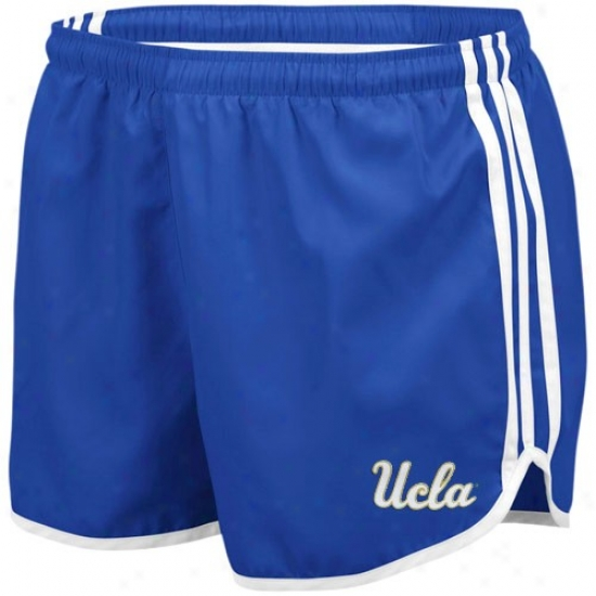 Adidas Ucla Bruins Ladies True Blue Princess Running Shorts