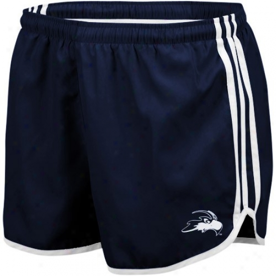 Adidas University Of North Florida Ospreys Ladies Navy Blue Princess Running Short
