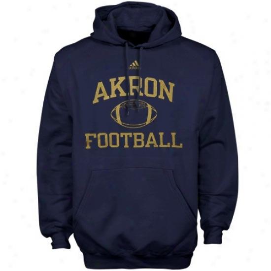 Akron Zips Sweatshirt : Afidas Akron Zips Navy Blue Collegiate Sweatshirt