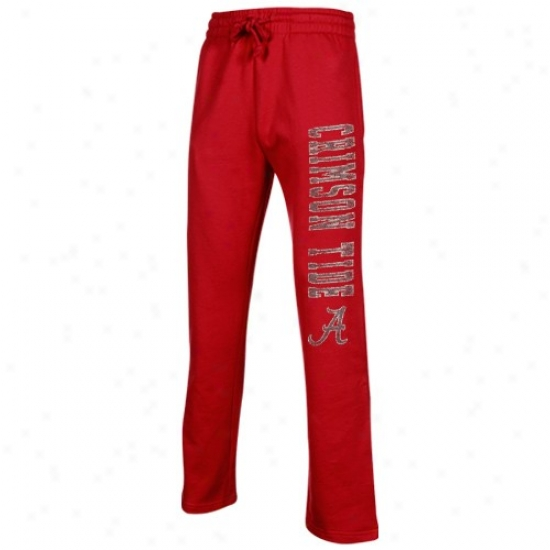 Alabama Crimson Tide Crimson Blitz Fleece Pants