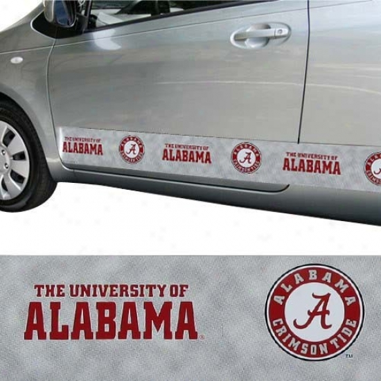 Alabama Crimson Tide Magnetic Car Trim