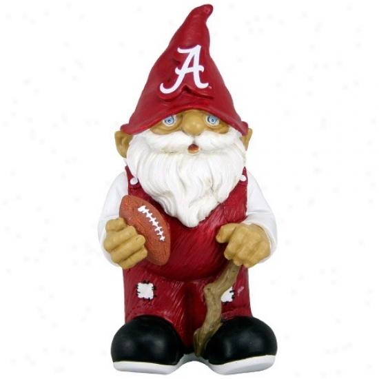 Alabama Crimson Tide Mini Foltball Gnome Figurine