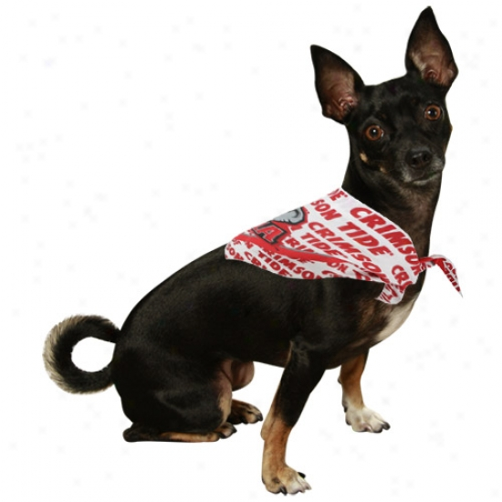 Alabama Crmison Tide Small Pet Bandana