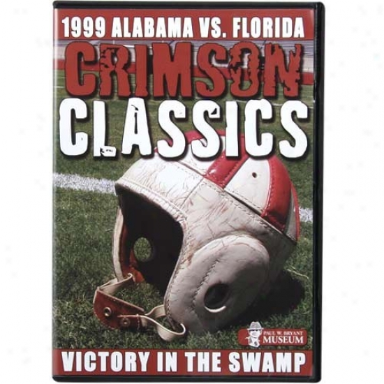 Alabama Crimson Tide Victory In The Swamp Crimson Classics Dvd