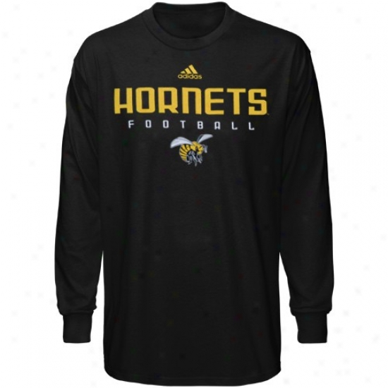 Alabama State Hornets T Shirt : Adidas Alabama State Hornets Black Sideline Long Sleeve T Shirt