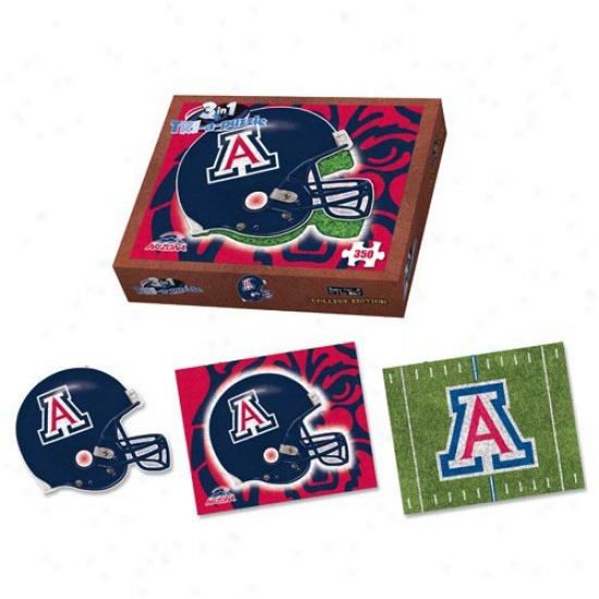 Arizona Wildcats 350-piece 3-in-1 Tri-a-puzzle