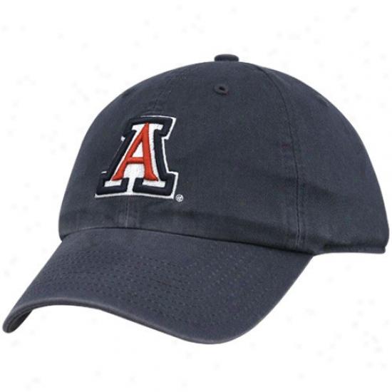 Arizona Wiildcats Cap : Twins Enterprise Arizona Wildcats Navy Blue Franchise Fitted Cap