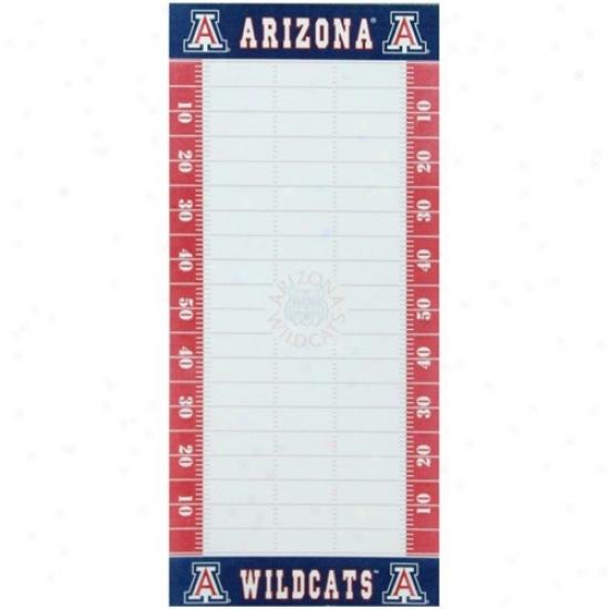 Arizona Wildcats Football Field To-do List