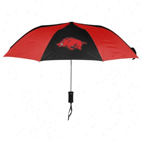 Arkansas Razorbacks 42'' Folding Umbrella