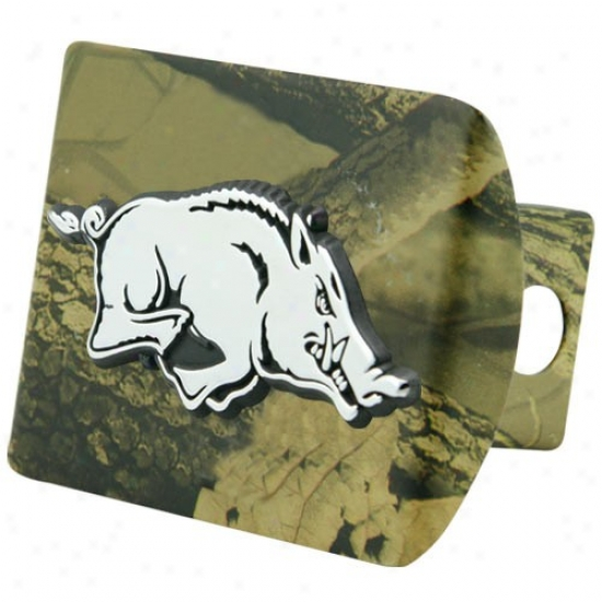 Arkansas Razrobacks Camo Trailer Hitch Covering