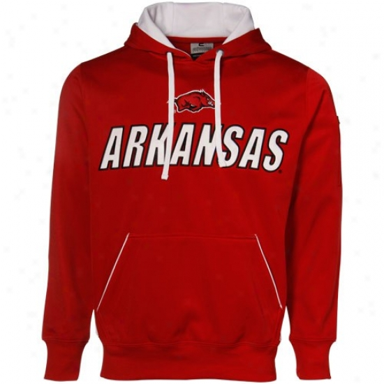 Arkansas Razorbacks Fleece : Arkansas Razorbacks Cardinal Inferno Fleece