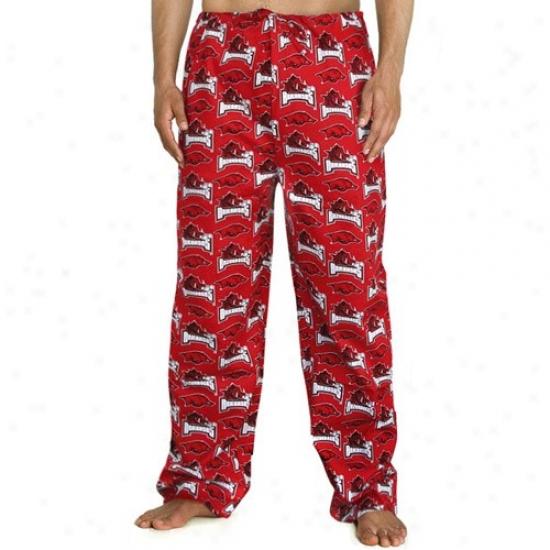 Arkansas Razorbacks Uniwex Cardinal All Excessively Mark Scrub Pants