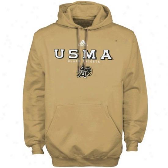 Army Mourning Knights Fleece : Adidas Army Black Knights Gold True Basic Fleece