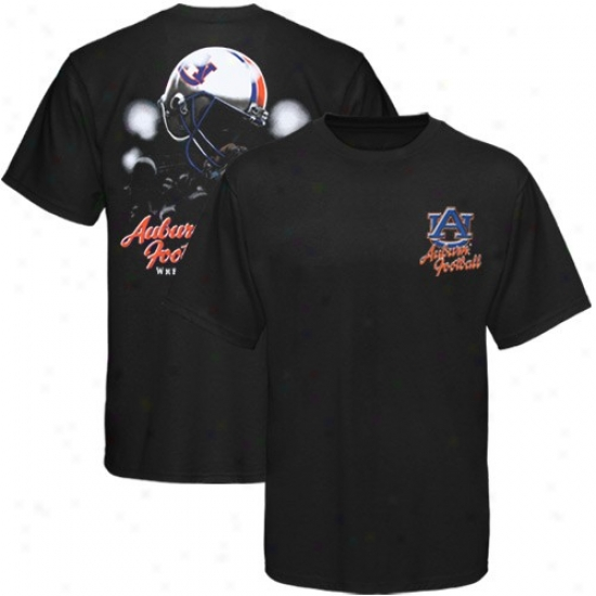 Auburn T Shirt : Nut-brown Black Helmet In Air T Shirt
