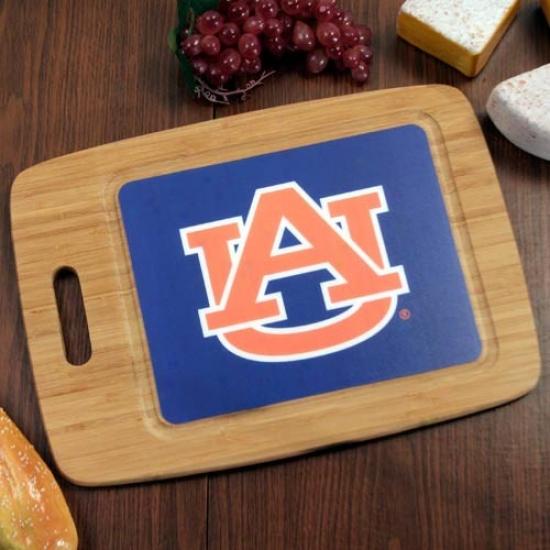 Auburn Tigers 15.25'' X 11'' Bamboo Cutting Board