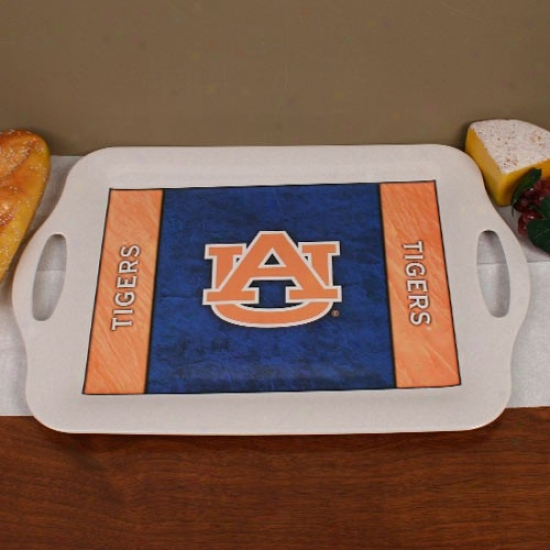 Auburn Tigers Ecobamboo Serving Tray