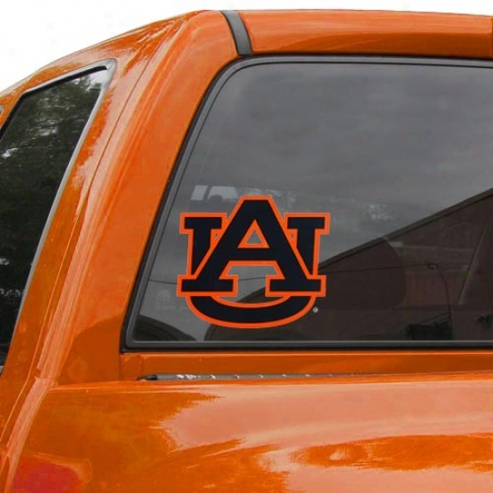 Auburn Tigers Team Logo Medium Window Cling
