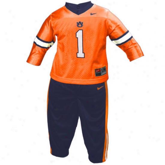 Auburn University Jersey : Nike Aubun University #1 Infant 2-piece Football Suit