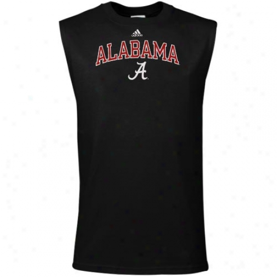 Bama  Shirts : Adidas Bama  Black In Play Sleeveless Shirts