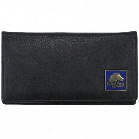 Boise State Broncos Executuve Murky Leaather Checkbook Cover