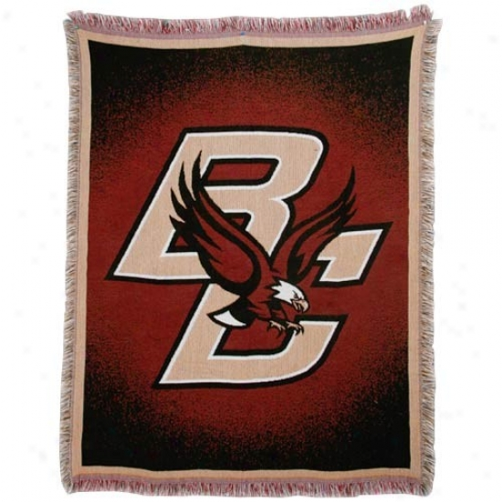 Boston College Eagles Focus Woven Throw Blanket