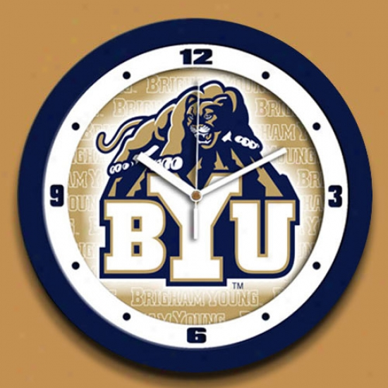 Brigham Young Couagrs Dimension Wall Clock