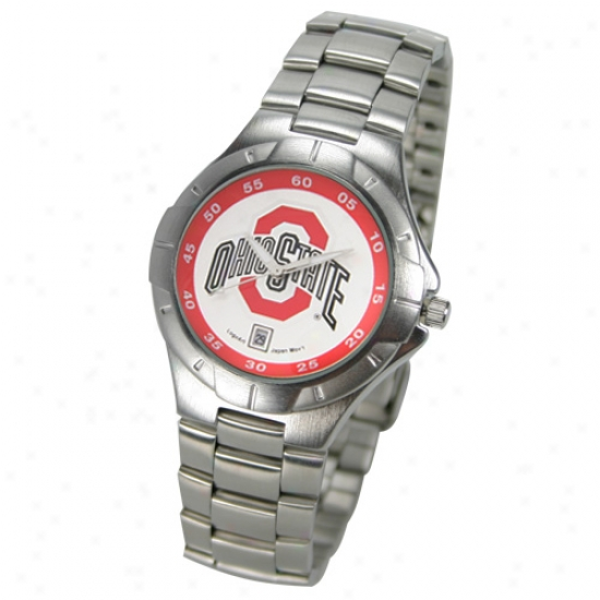 Buckeyes Wrisr Watch : Buckeyes Men's Pro Ii Wrist Watch
