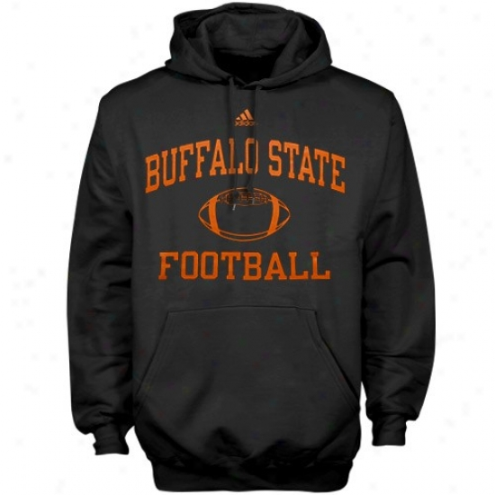 Buffalo State Bengals Sweat Shirts : Adidas Buffalo State Bengals Black Collegiate Seat Shirts