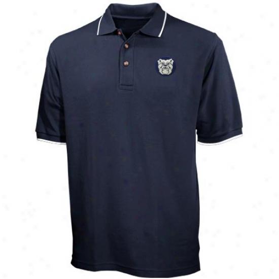 Butler Bulldogs Clothes: Butler Bulldogs Navy Blue Tournament Polo