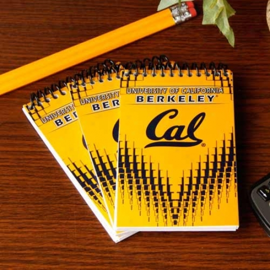 Cal Golden Bears 3-pack Memo Books