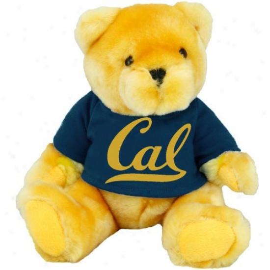 Cal Golden Bears Gold Mink Bear With School T-shirt