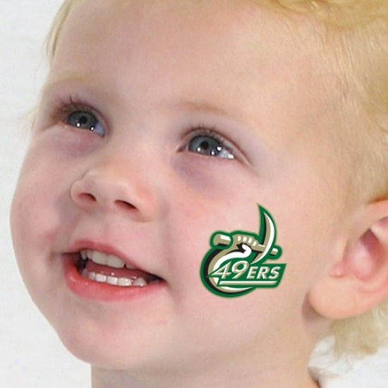 Charlotte 49ers Temporary Tattoos