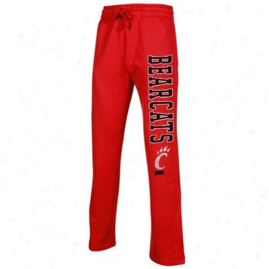 Cincinnati Bearcats Red Blitz Fleece Pants
