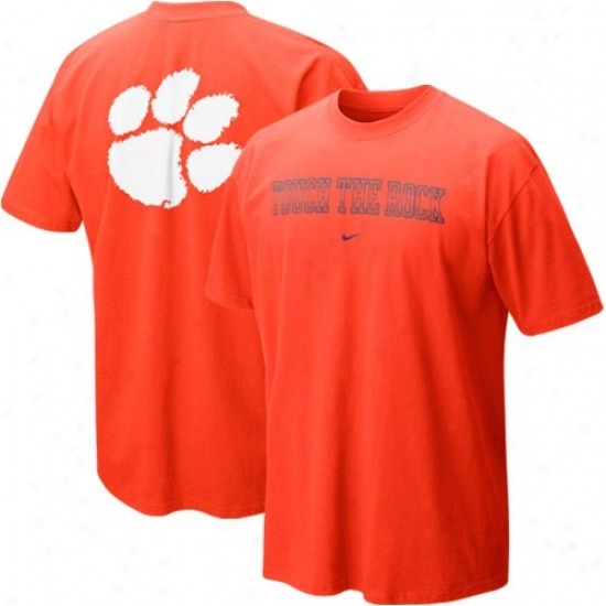 Clemson Tiger T-shirt : Nike Clemson Tiger Orange Our House Loca lT-shirt
