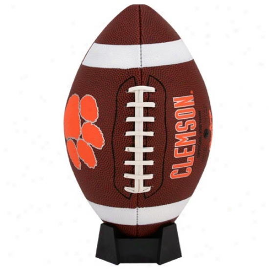Clemson Tigers Full-size Game Time Football