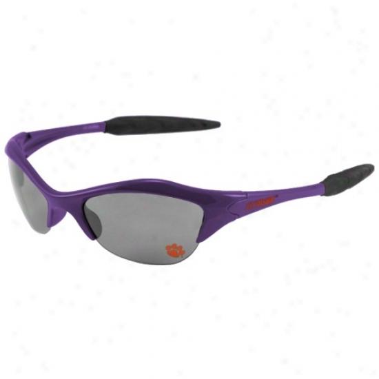 Clemson Tigers Purple Sunglasses
